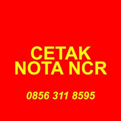 Cetak Nota / Kwitansi untuk Universitas Surabaya