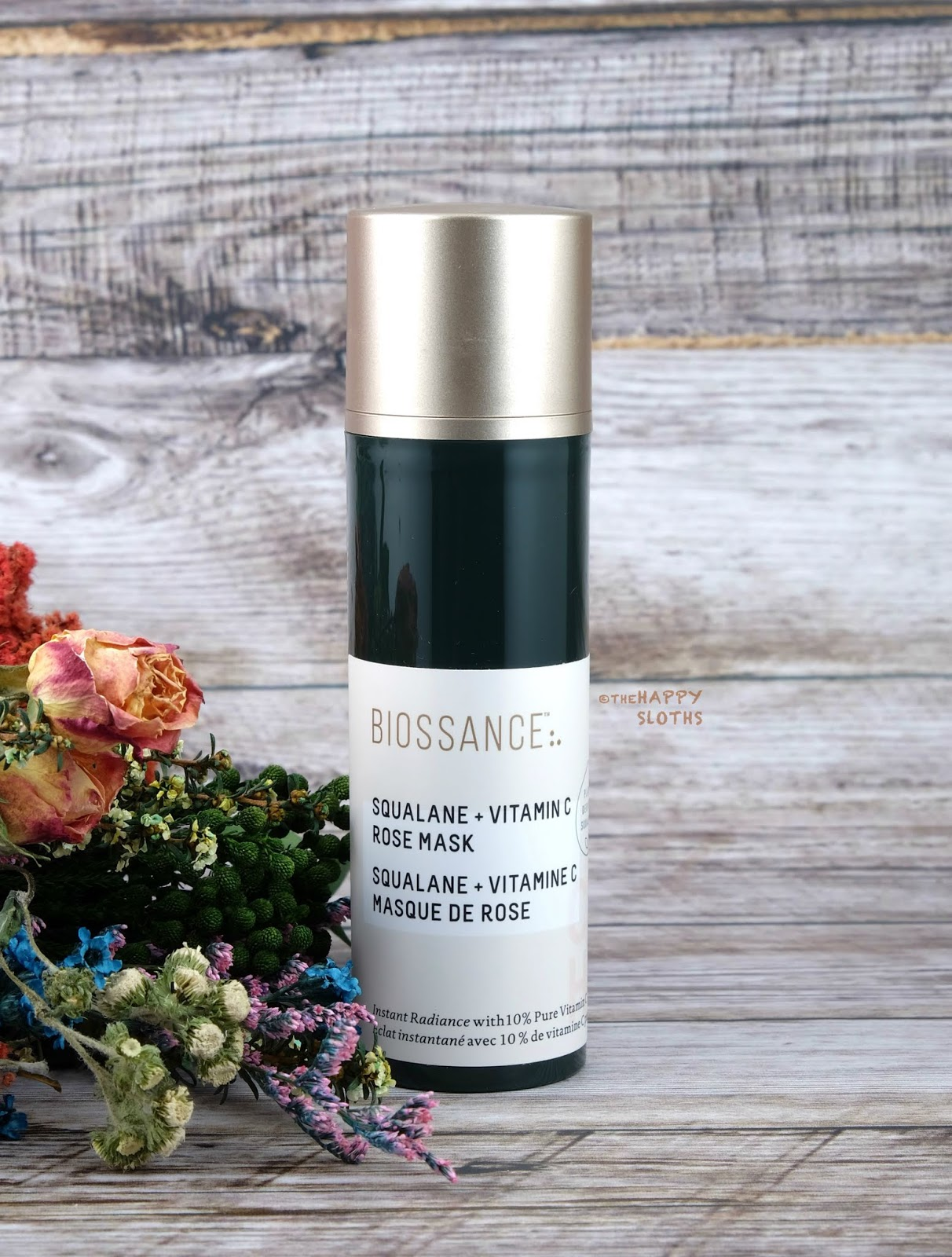 Biossance | Squalane + Vitamin C Rose Mask: Review