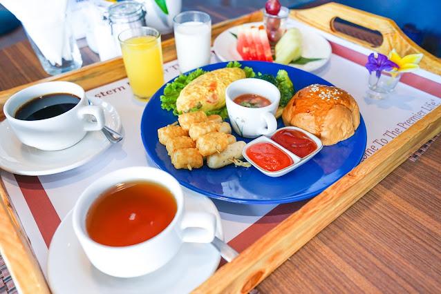 breakfast best western premier the hive hotel cawang jakarta hotel dekat halim PSBB jakarta
