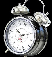 Relógio despertador em png