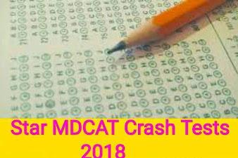 Star Academy MDCAT Crash Tests 2018