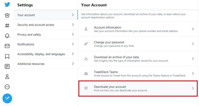 كيفية حذف حساباتك في شبكات التواصل الاجتماعي