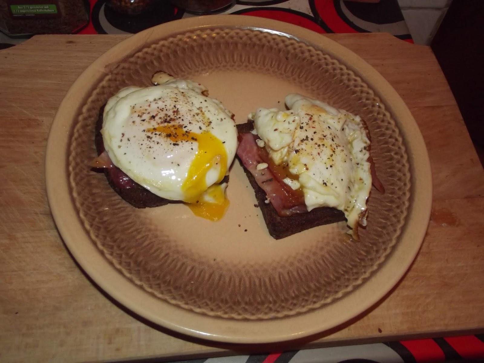 Adventures in Flavorland: Strammer Max (German ham and eggs