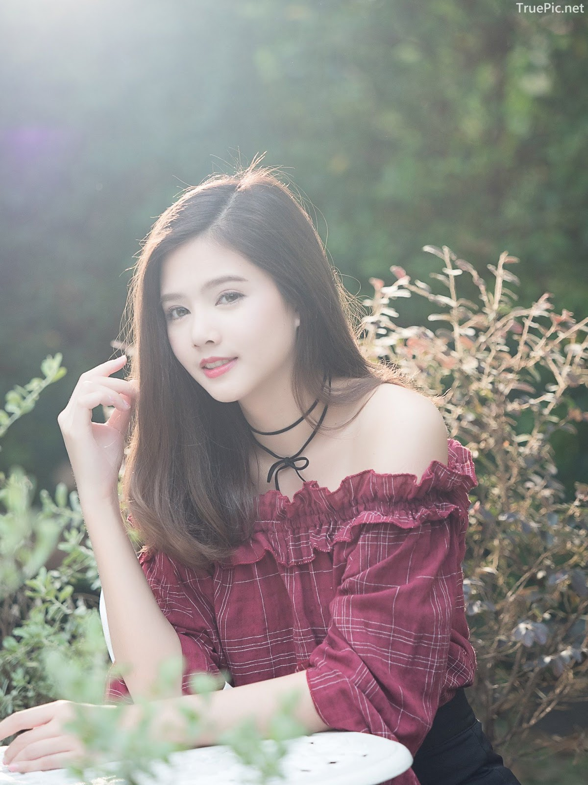 Thailand pretty girl Aintoaon Nantawong – The most beautiful flower in the garden - Picture 7