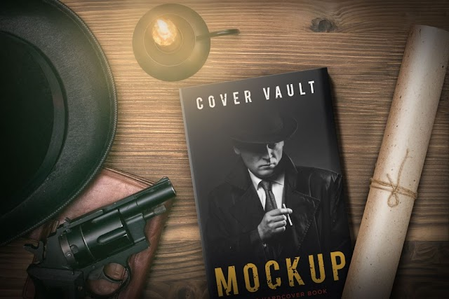 10+ Book Mockups PSD Free Download