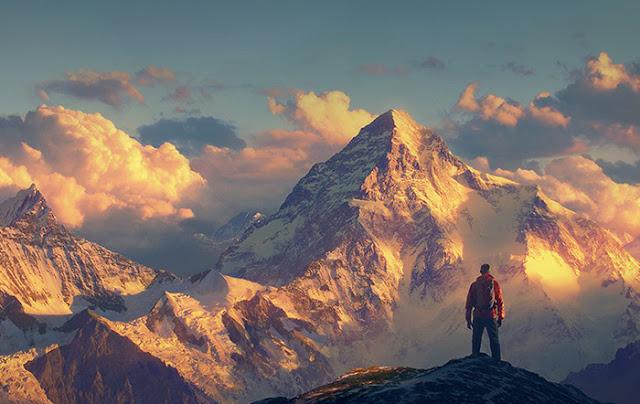 Ben Stiller en el Himalaya en La vida secreta de Walter Mitty