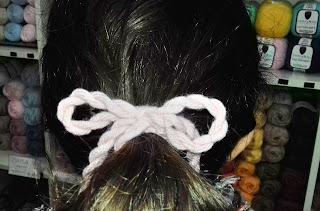 lazo cordon pelo