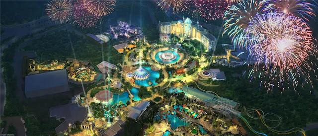 Universal's Epic Universe Overview Concept Art
