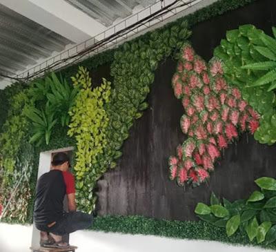 Jasa Pembuatan Vertical Garden Sintetis - SuryaTaman