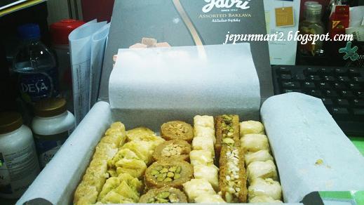 Baklava,manisan dari Dubai