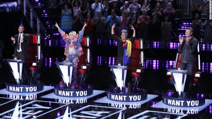 Miley Cyrus and Alicia Keys make great harmony on 'The Voice