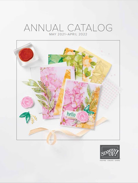 idea book from stampin' up! filled with lots of great card ideas and products