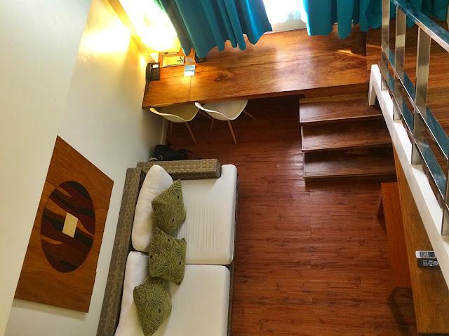 1 room loft at Ferra Hotel