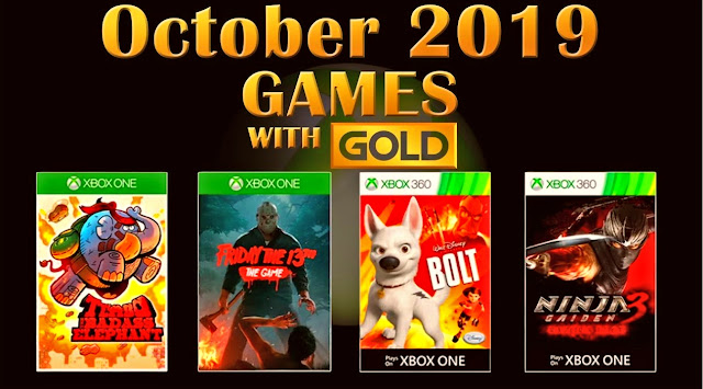 Check out the free Xbox Live Gold games for October 2019