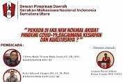 Webinar DPD GMNI Sumatera Utara : Pilkada di Era New Normal Akibat Pandemi Covid-19, Bagaimana Kesiapan Dan Kualitasnya?