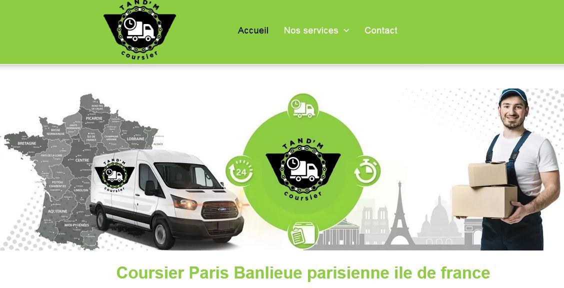 Coursier Paris Banlieue parisienne ile de france