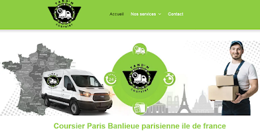 Coursier paris banlieue