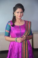 Shilpa Chakravarthy in Purple tight Ethnic Dress ~  Exclusive Celebrities Galleries 077.JPG