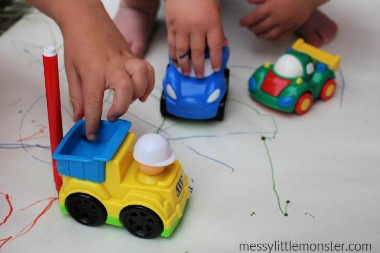 toddler process art ideas