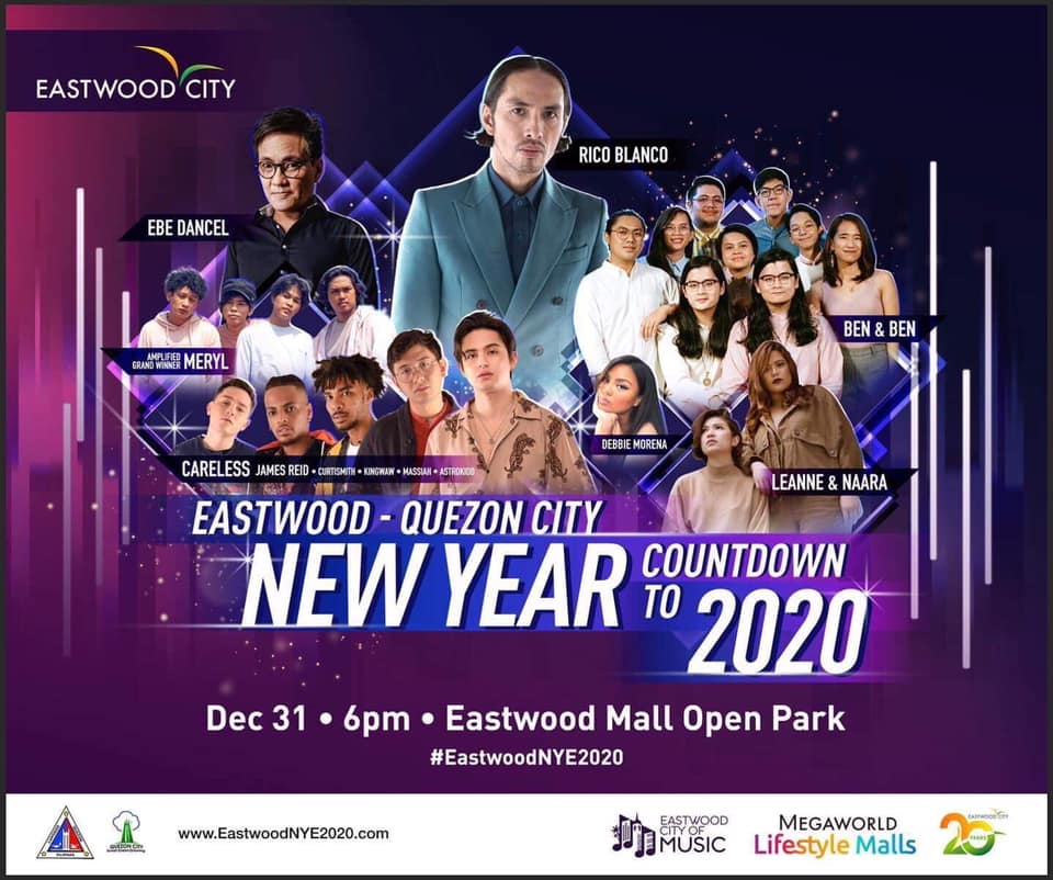 Eastwood - Quezon City New Year Countdown to 2020