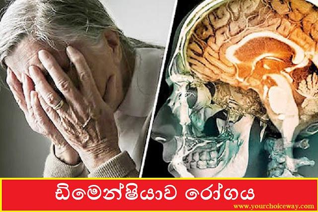 ඩිමෙන්ෂියාව රෝගය [වයගත පුද්ගලයන්ගෙ අමතකවීමෙ ලෙඩය] 🙄😲😲😲😲😲😲💀🚫 (Dementia) - Your Choice Way