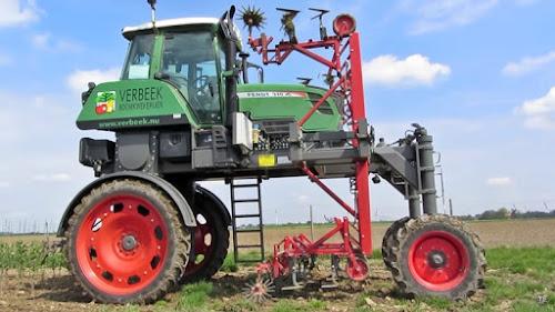 trator alto adaptado agricultura