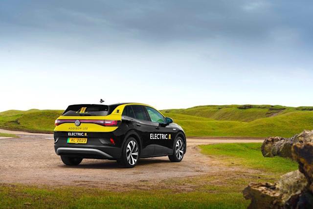 Volkswagen Electric taxi