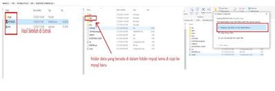 Cara Memindah Data Dari Aplikasi Feeder EMIS (AFE) Madrasah  Lama Ke Aplikasi Feeder EMIS (AFE) Baru Tanpa Klik Data Lampau