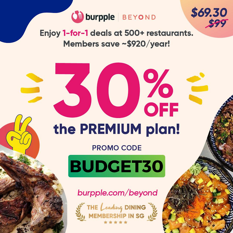 Is Burpple Beyond Worth It? Here's My Review of their 1-for-1 Offers