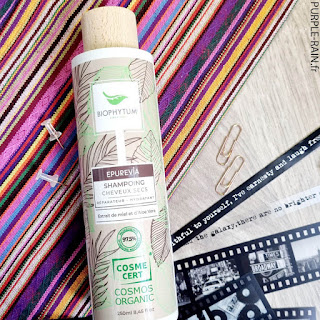 PurpleRain Biophytum • Shampooing fortifiant Bio