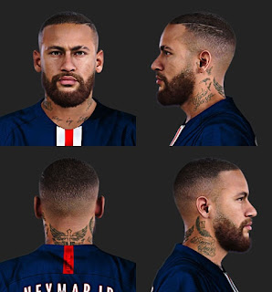 PES 2020 Faces Neymar Jr by Messi Pradeep