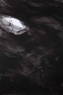 Fusain sur papier © Annik Reymond