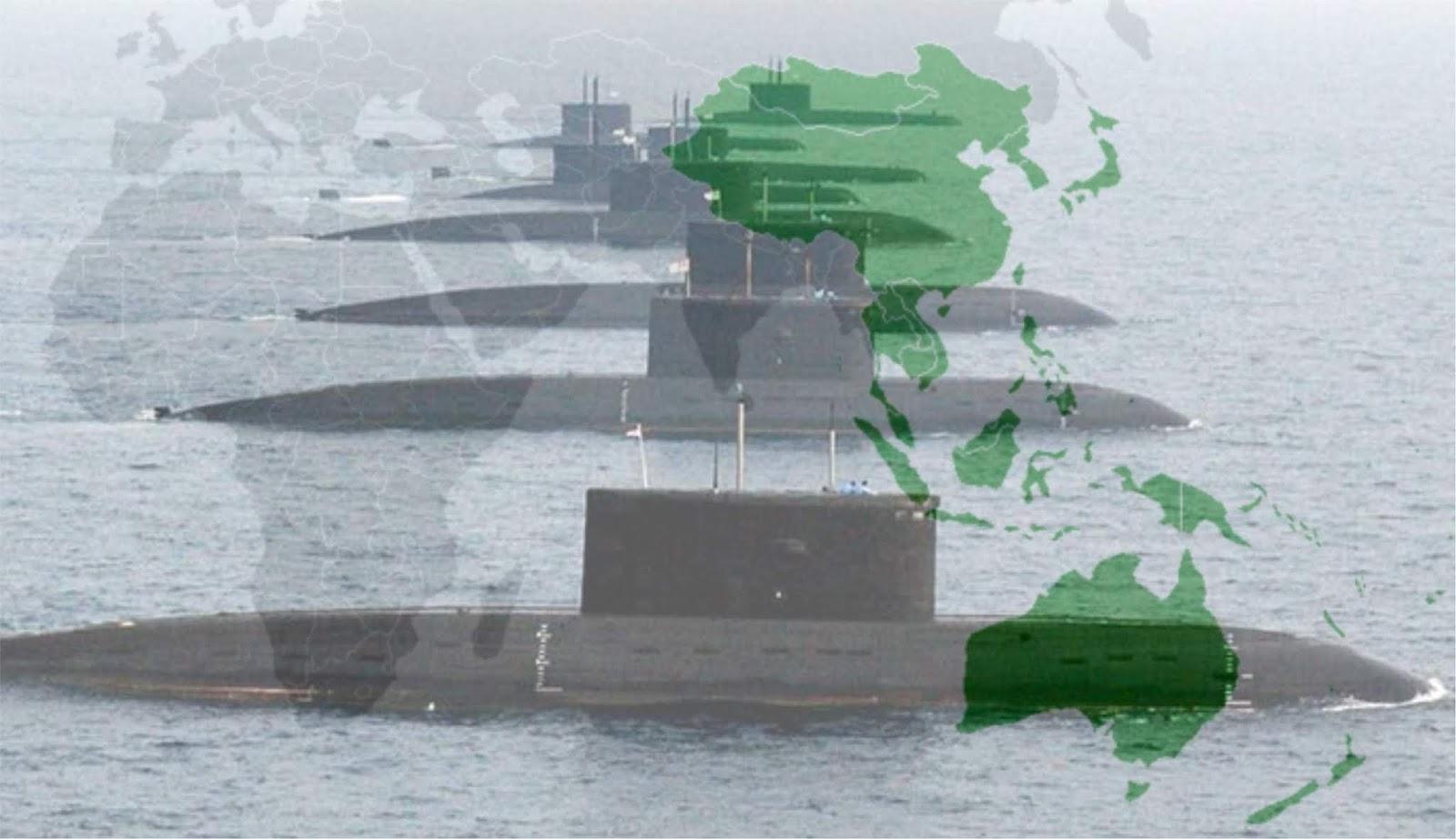 Kekuatan-kekuatan besar dunia mulai mengarah ke Asia Pasifik