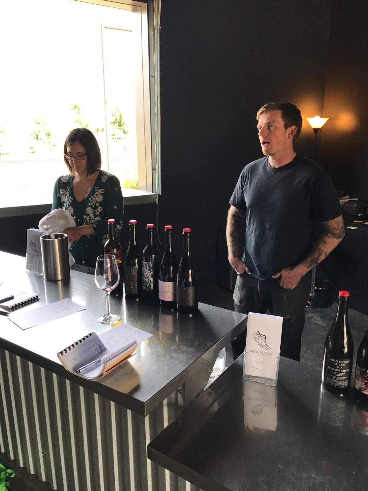 Reconnecting at Brian Benson Cellars with Christina u0026 Brian Benson. & A 2017 Central Coast Wine Pictorial | The Wine Write