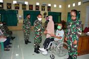 Cacat Luka Tembak, Serda Purnawirawan Sunarno Dapat Santunan Lebaran Pangdam IV Diponegoro