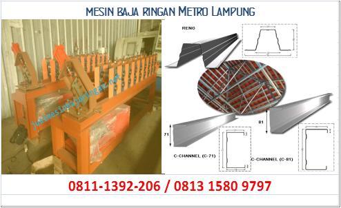mesin baja ringan Metro Lampung