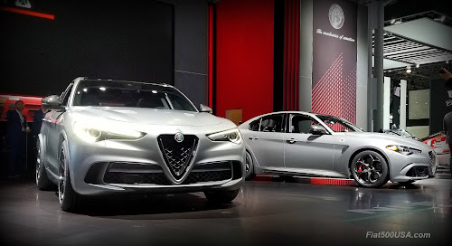 Alfa Romeo Quadrifoglio NRING Models at NYIAS