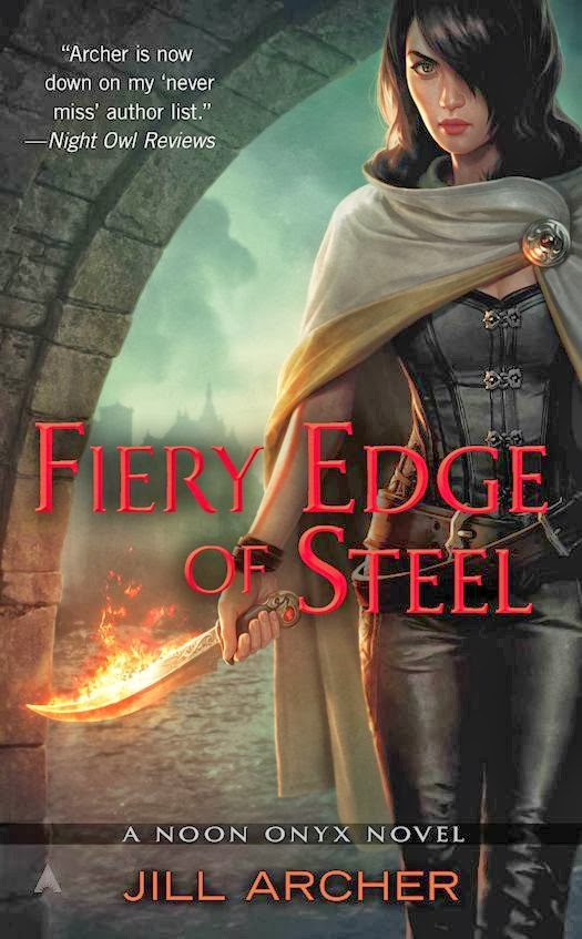 Review: Fiery Edge of Steel (Noon Onyx 2) by Jill Archer