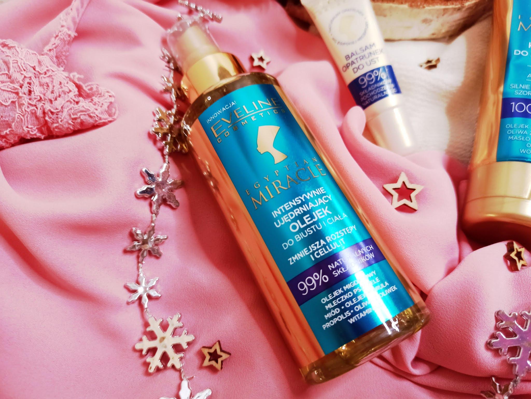 Eveline Egyptian Miracle olejek intensywnie nawilżający do ciała