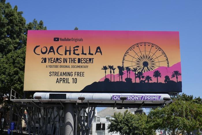 Coachella 20 Years in Desert billboard