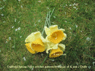 Daffodil Spring Fairy Amigurumi Crochet Pattern : March 2011 - Sayjai Amigurumi Crochet Patterns ~ K and J ...