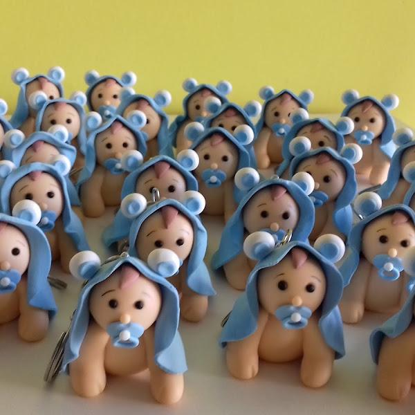 Lembrancinhas de Bebê no Chaveiro