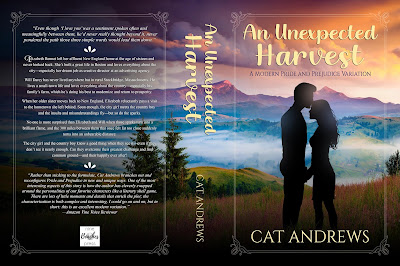 Full Wrap Book Cover: An Unexpected Harvest by Cat Andrews