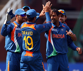 India vs West Indies 12th Match ICC CT 2009 Highlights