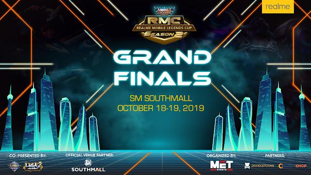 Realme Mobile Legends Cup Grand Finals on October 18 - 19, 2019