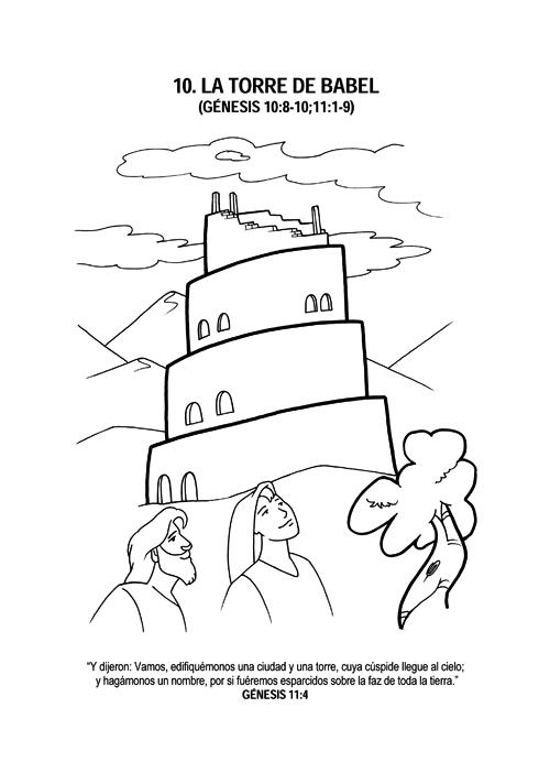 Torre De Babel Para Colorear Imagui