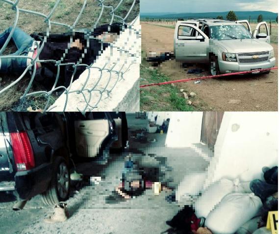 """Ya salio el peine y hablan sicarios de  """"La Linea"""" en masacre declara que eran el doble de sicarios los de """"El Cartel de Sinaloa"""""""