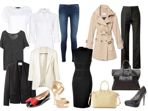 10 b sicos que no deben faltar en tu armario bellezatotal - Como vestir un armario ...