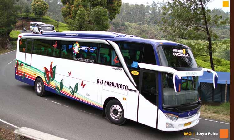 Sewa Bus Pariwisata Cirebon Dan Brebes - Surya Putra Bus