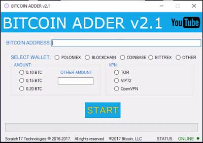 Bitcoin apparatus equipment